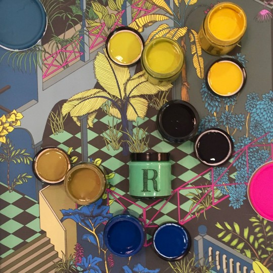 peintures RESSOURCES, graphismes et couleurs / paints, colours and graphics
