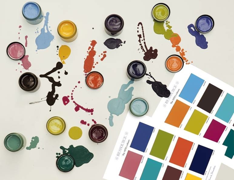 couleurs Peintures RESSOURCE  / RESSOURCE paint colours