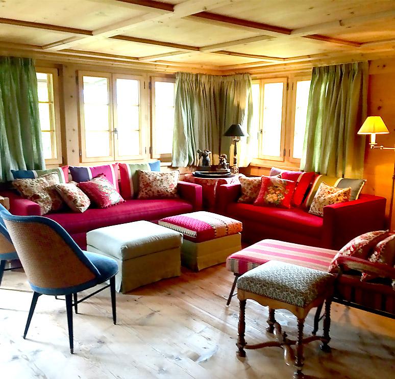 Stunning decoration interieur chalet photos lalawgroup for Decoration interieur chalet bois