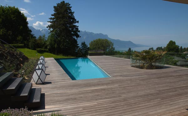 Lake view villa (Switzerland)