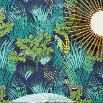 ambiange jungle exotique, papier peint PIERRE FREY jungle atmosphere PIERRE FREY wallpaper